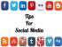 social media tips picture