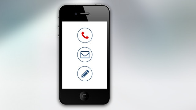 cell phone email icon
